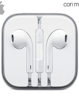 Apple Auriculares (Jack 3,5 mm) Original iPhone 5 / 5s / 6 / 6 Plus